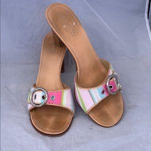 Coach Diedre women's heels sandals size 9